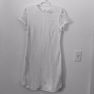 Banana Republic Mesh/Crochet Sheath dress - S 4